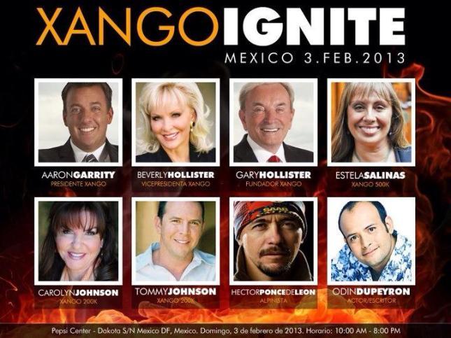 xango ignite 2013